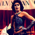 Tim Curry from The Rocky Horror Picture Show