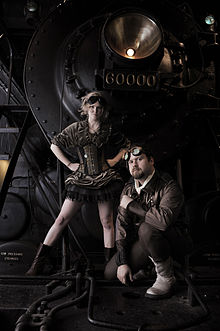 A steampunk-themed photo (from Wikipedia)