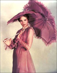 Julie Andrews as Eliza Doolittle in My Fair Lady (stage)