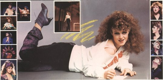 Bernadette Peters in Song and Dance